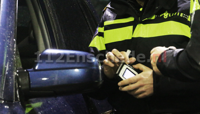 Politie haalt drankrijders van de weg: één bestuurder twee keer betrapt