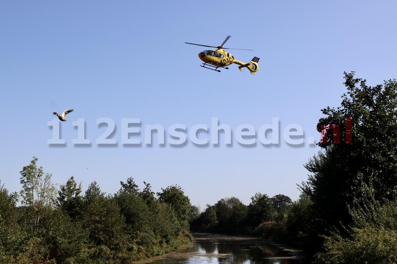 UPDATE: Traumahelikopter ingezet na ernstige aanrijding op de oude N18 bij Haaksbergen